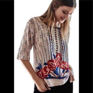 Anthropologie Moulinette Soeurs blouse - size L